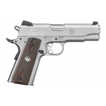 """Pistole Ruger SR 1911 Commander (4,25""""), 45 ACP, nerez"""