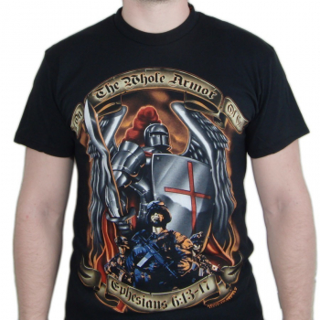 Tričko Put On The Whole Armor, Black Ink Design