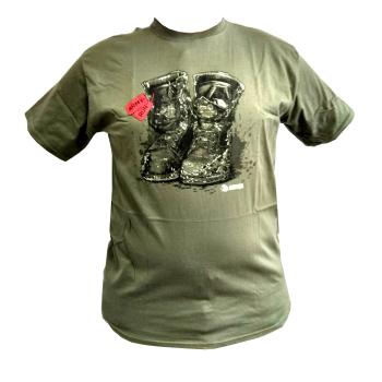 Tričko MARS&ARMS ArmyRun, zelené
