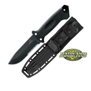Nůž Gerber LMF II Infantry, černý, kombinované ostří
