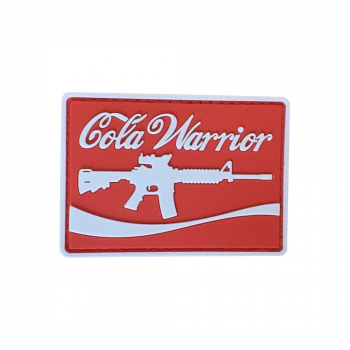 PVC nášivka Cola Warrior