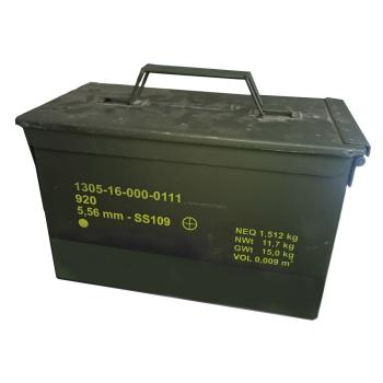 Bedna na munici M2A1, originál, použitá