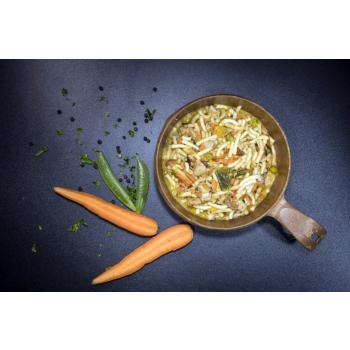 Dehydrované jídlo - nudle s kuřecím masem, Tactical Foodpack