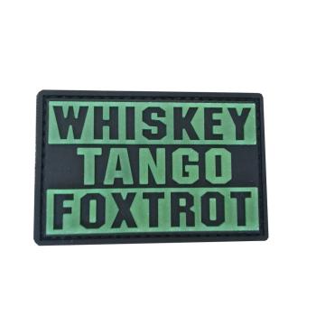 PVC mášivka WHISKEY TANGO FOXROT