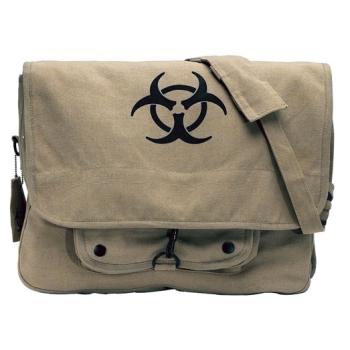 Taška přes rameno Bio-hazard Vintage, khaki, Rothco