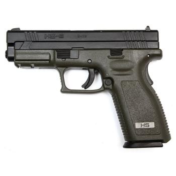 "Pistole HS-9, 4"" - green, 9mm"