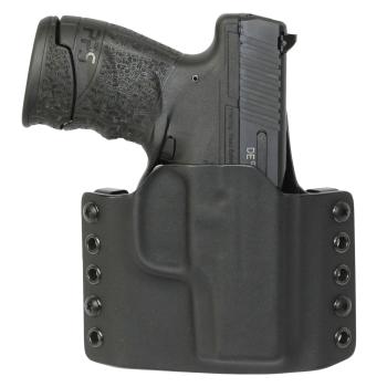 Kydex pouzdro pro Walther PPS M2, pravé, poloviční swtg., černé, RH Holsters