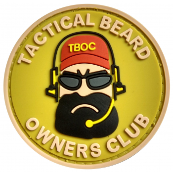 PVC nášivka Tactial Beard Owners Club