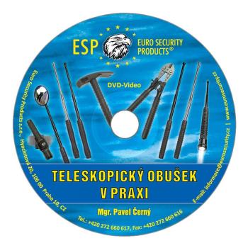 Výcvikové DVD teleskopický obušek v praxi, ESP
