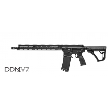 """Samonabíjecí puška Daniel Defense DDM4 V7 300 BLACKOUT, 16"""" hlaveň"""