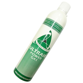 Plyn UltraAir Green Power Gas 520 ml do airsofotvých zbraní