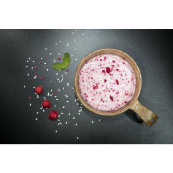 Dehydrované jídlo - rýžová kaše s malinami, Tactical Foodpack