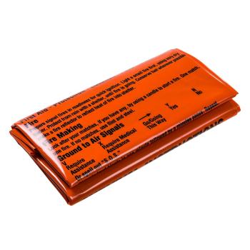 Potištěný pytel pro přežití, oranžový, BCB