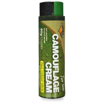 Maskovací barvy Bushcraft 60 g - černá + zelená, BCB