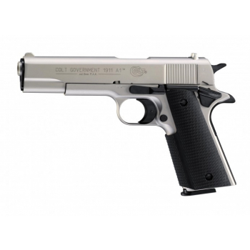 Plynová pistole Umarex Colt Government 1911 A1 Nikl cal.9mm