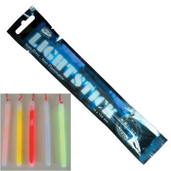 Svítící tyčinka Lightstick tenká, 8-12 h, zelená, Mil-Tec