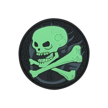 PVC nášivka Maxpedition Skull