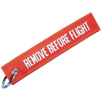 Páska na klíče - Remove Before Flight, Mil-Tec