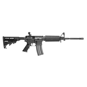 "Puška samonabíjecí STAG-15 M4/OR, hlaveň 16"", ráže .223 Rem / 5,56x45"