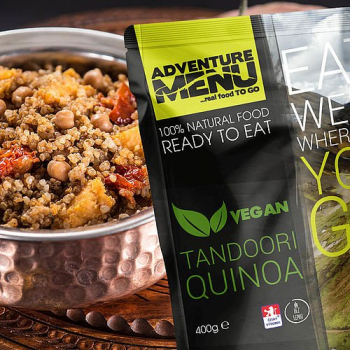 Tandoori Quinoa (vegan), Adventure Menu