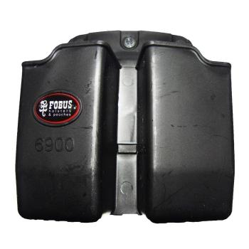 Pouzdro na 2 dvouřadé zásobníky Glock ráže 9 mm, průvlek, Fobus