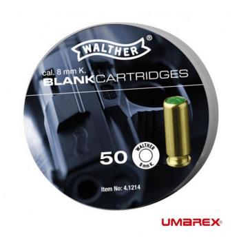 Startovací náboje pro plynovou pistoli 8 mm R.K., Umarex, 50ks