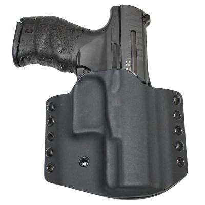 """Kydex pouzdro pro Walther PPQ M2 4"""", pravé, poloviční swtg., černé, RH Holsters"""