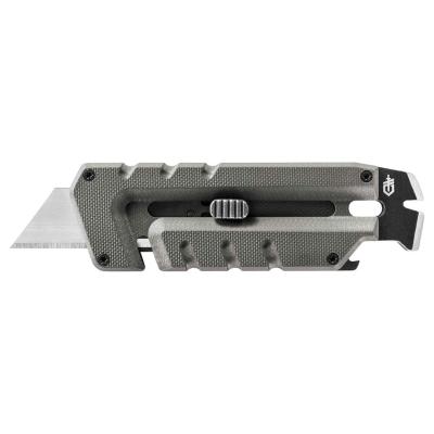 Vysouvací nůž Prybrid-Utility Solid State, hladké ostří, šedý, Gerber