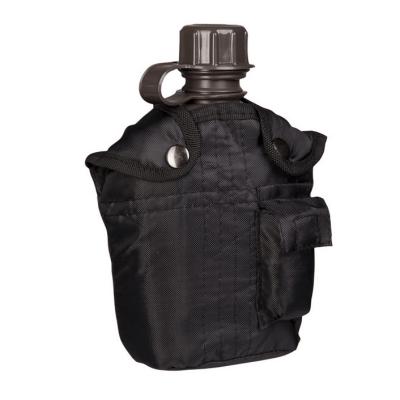 Polní láhev U.S s obalem, černá, 1 L, Mil-Tec