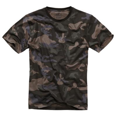 Pánské triko Brandit, darkcamo, XL
