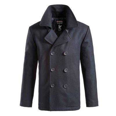 Pánský námořnický kabát Pea Coat, Navy blue, L