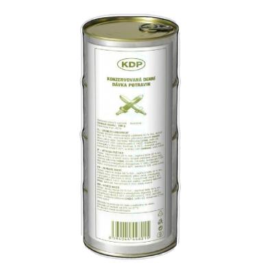 KDP konzervovaná denní dávka potravin, 4 konzervy, PT Servis