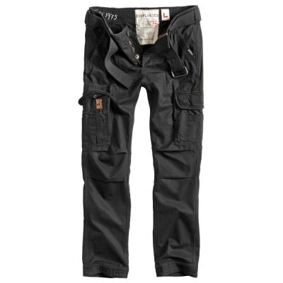 Kalhoty Surplus Premium Vintage Slimmy, černá, L