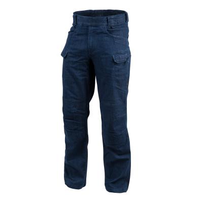 Kalhoty Helikon Urban Tactical, Denim, XL, prodloužené, Polycotton Denim