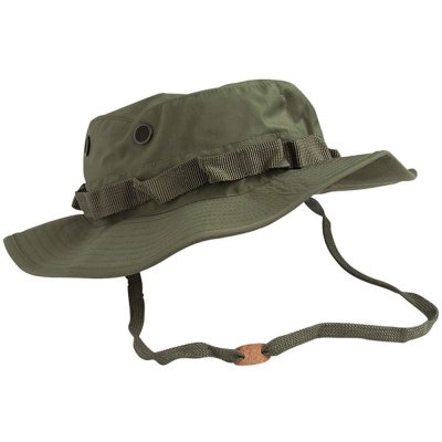 Nepromokavý klobouk Mil-Tec US G.I. Teesar, olivový, S