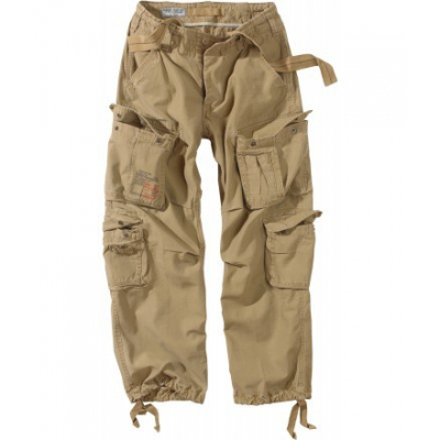 Pánské kalhoty Surplus Airborne Vintage, písková, 4XL