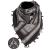 Shemagh s motivem pušek, černobílý, Mil-Tec