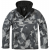 Bunda Brandit Windbreaker, nightcamo digital, L