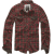 Pánská košile Brandit Checkshirt Duncan, červeno-hnědá, XL
