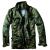 Pánská bunda Brandit M-65 Standard, Flecktarn, S