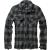 Pánská košile Brandit Check Shirt, černo-šedá, M
