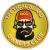 PVC nášivka Tactial Beard Owners Club, písková