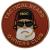 PVC nášivka Tactial Beard Owners Club, červená