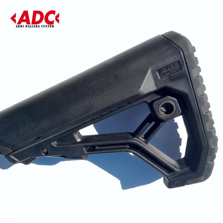 ADC puška samonabíjecí model SPARTAN ráže .223 Rem, předpažbí M-LOK