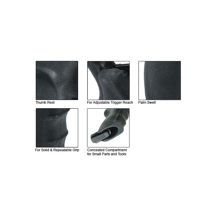 Ergonomická pistolová rukojeť UTG pro AR15, černá