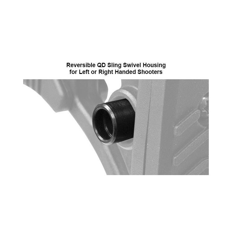 Teleskopická pažba UTG Ops Ready S3 (samostatná), rozměr Mil-Spec, černá