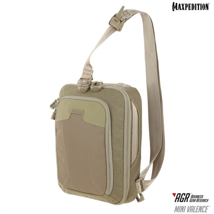 Taška přes rameno Mini Valence™, 7 L, Maxpedition - Taška přes rameno Maxpedition AGR™ Mini Valence™ Tech Sling Pack 7L