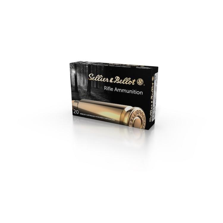 Náboje Sellier Bellot 9,3x62 SP 2952, 20 ks
