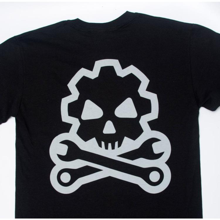 Tričko Mil-Spec Monkey Death Mechanic, černé, velikost M