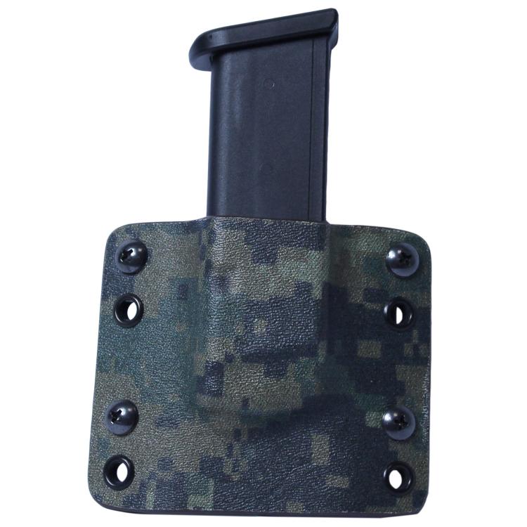 Kydex pouzdro na zásobník Glock 9 mm/40SW, bez swtg., MarPat, RH Holsters